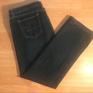 American Eagle Women's Blue Jeans Size 18